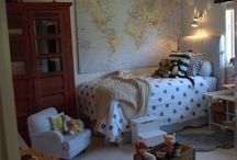 Home- Kids Rooms / by Kristen Thornton