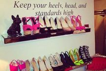 Shoe Storage Ideas / by Sara Davey