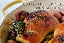 Cornish Hens / by Barbara Toman