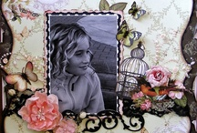 Scrapbook pages / by Sandra Fox
