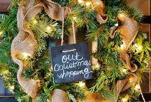 Christmas Wreaths / by Angie @Echoes of Laughter