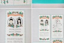 wedding invites + paper goods / by Elisa Henry