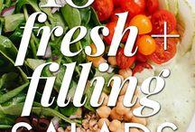 Salads / by Jonna Ventura (Frayed Knot)