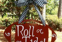 Bama! ROLL TIDE!!  / by Tiffany Gambrell-Honeycutt