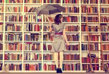 """℘laces ßooks ℓive / Libraries, Bookstores, Home Libraries. Anywhere & Everywhere Books Live (and those who love them). """"A library is but the soul's burial-ground.  It is the land of shadows.""""  ~Henry Ward Beecher / by GiveEmKel"""
