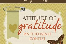"Attitude of Gratitude Pin It to Win It Contest / Thanksgiving is all about being grateful for what we have and giving thanks for the ones we love. Show us what ""gratitude"" means to you. Below are some examples of pins that convey gratitude in various ways. Click here to enter: http://woobox.com/p826rr   Contest runs 11/18/13 to 11/30/13. #AttitudeOfGratitude  / by La Jolla Cosmetic Surgery"