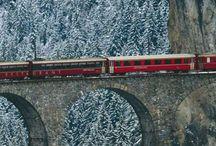 Trains Just Trains / by Jacqueline Owens