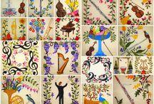 Applique quilts #3 / by Wanda Cibroski