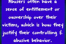 Abusive relationships / by Sharon Dowen