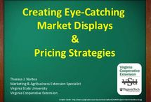 Market display ideas / by Bonnie Timbrook