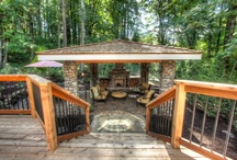 Outdoor space / by Carolyn Schilling