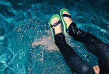 Blue - Color of the Week / Our new Original Sandals come in a wide range of amazing colors, including a Blue/Green combo, which were made for surf, sand, endless pool parties, and is just in time for summer. http://www.bit.ly/OriginalBlue / by Teva