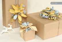 Gift Wrap Ideas  / by Grazyna Lilley
