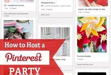 Pintrest Party ideas / by Jenae Paulo