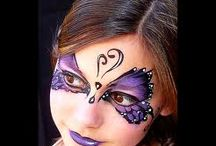 face and body paint / by Kimberly Watson-Wallencheck