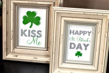 Go Green For Luck / Happy St.Patrick's Day!! March 17th / by Crystal M