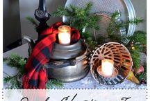 Christmas: Rustic / by Debra Lindsey