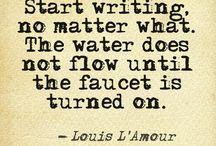 writing / by Marjorie Fallon