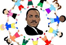 Martin Luther king / by Tiffany Mendiola:)