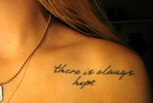 Tattoos / by ★Angeleyez★