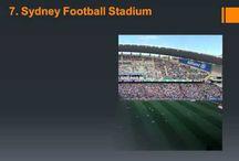 Australian Sports Venues / by Buffalo Sports