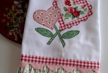Towel Toppers & Pot Holders & Tea Towels !!! / by Trudie Hamilton