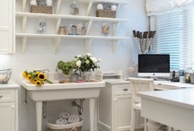 At Home: Office or Craft room / by Eileen Donoghue