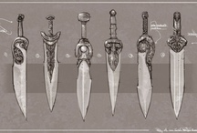 Melee Weapons / by Lustosa
