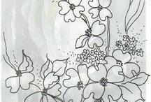 pintura tela / by maria del carmen glez