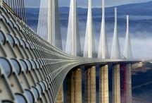 Ponts-Bridges / A bridge to unite us, a bridge to make us kiss, a bridge to make us say 'wow!' / by Nathalie Leseine