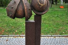 sculpture, steampunk, monuments, accessory, clock / by Tamara Gurzuff