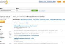 Software Developer Trainee jobs / Jobs Software Developer Trainee vacancies in Careesma. 6391 job offers in Careesma for Software Developer Trainee. You can see all the jobs for Software Developer Trainee, Page... / by Careesma.in India