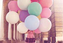 balloons. / by Kat. Miller