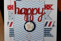 Card Making -Fouth of July- / by Angela Schingeck