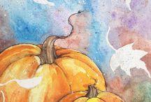 Halloween/fall art / by Susanne Mackenzie