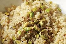 Quinoa Recipes / Recipes with quinoa. / by Andrea Hatfield