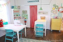 HOME - Craft Room / by Little Housewife