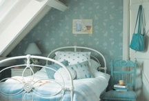 Vintage Cottage Charm + BLUE / by Janice Lawson