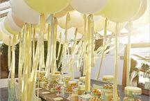 Dekoration für die Hochzeit / by Toni S.