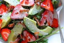 Slimming Salads / by Holly Hanna - The Work at Home Woman