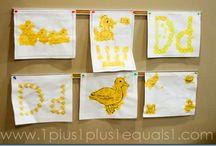 Tot & Preschool Duck Theme / by Samantha
