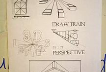 Art Perspective Lessons / by Jennifer Sanders