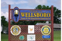 wellsboro Pa where i live... / by sis (Bea) Phillips Plumley