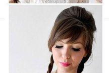 Cute hair & cute hair styles / by Tiffany Mendiola:)