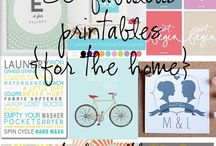 Free Printables / by Ashley Kitter