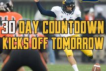30 Days to Kickoff Countdown  / by University of California Golden Bears