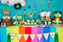 St. Patrick's Day Party Ideas / You can have the luck of the Irish on your side. Even if you don't share the heritage, St. Patrick's Day is the best holiday to use all things GREEN. So throw on some beads, grab a lucky charm and party the night away.  / by PartyCheap.com