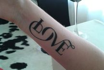 Tattoos / Love   / by Samantha Doyle