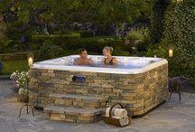 hot tub maintenance / by Linda Hamilton