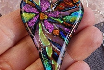 Fused Glass Jewelry / by Marge Helsell
